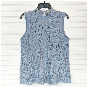 MAEVE (Anthropologie) Emilie lace top NWT